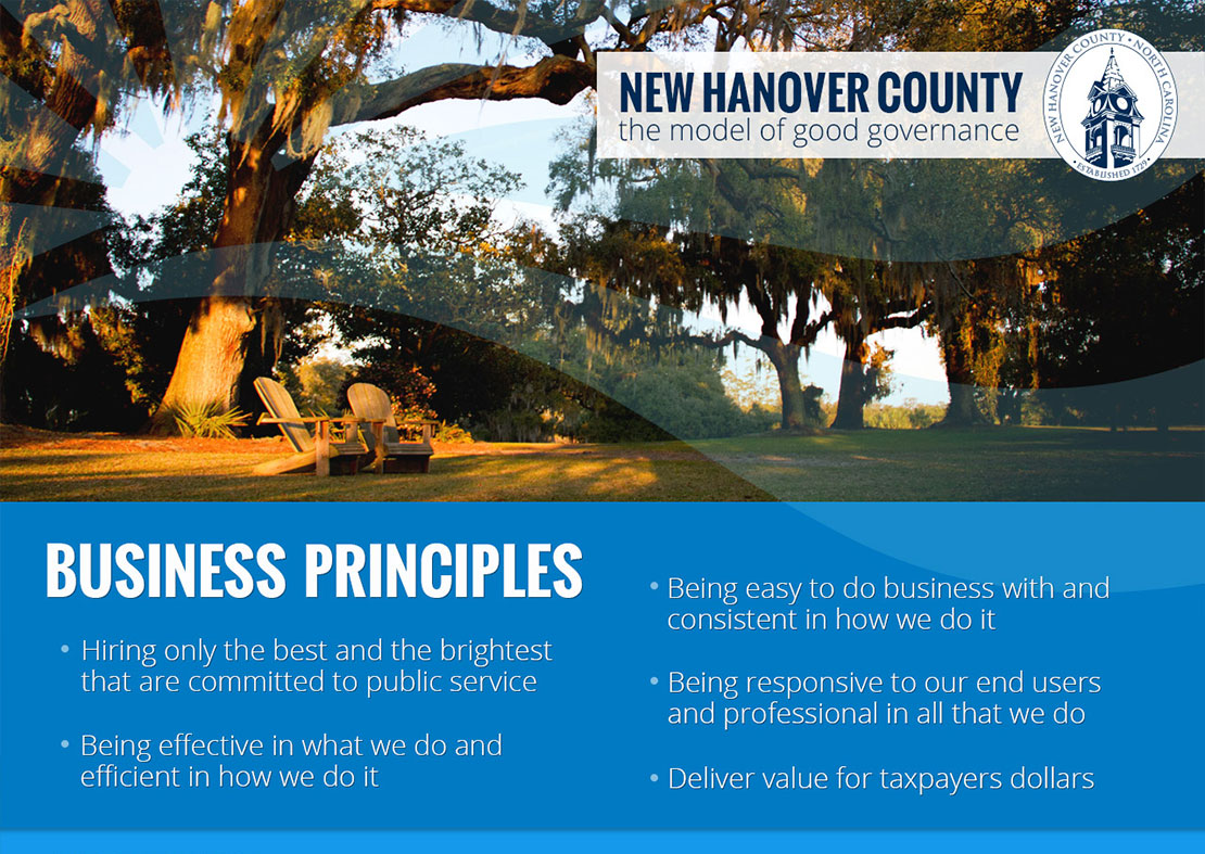 New Hanover County Business Principles