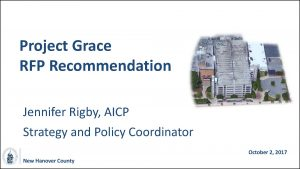 Project Grace RFP Recommendation Presentation - Link to PDF