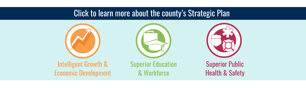 Click here to learn more about the county's 2018-2023 Strategic Plan
