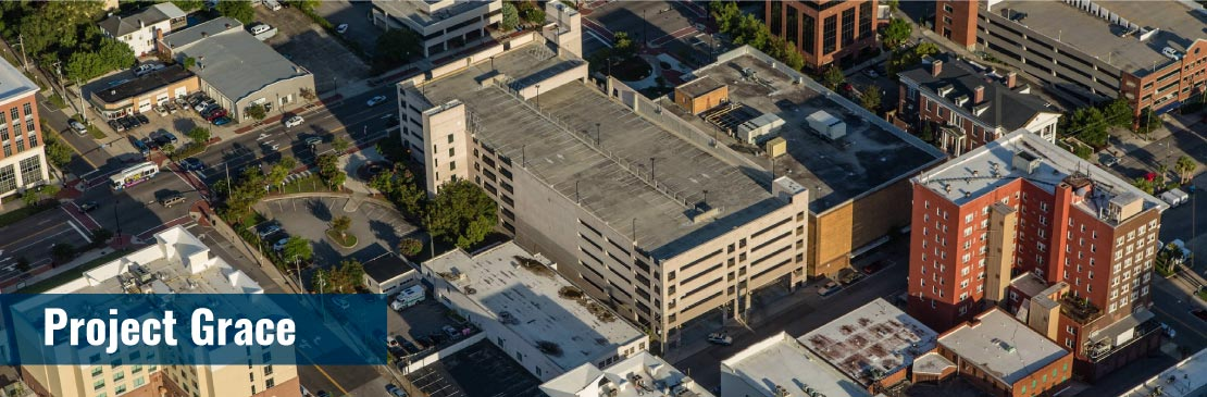 Aerial View of Project Grace Block