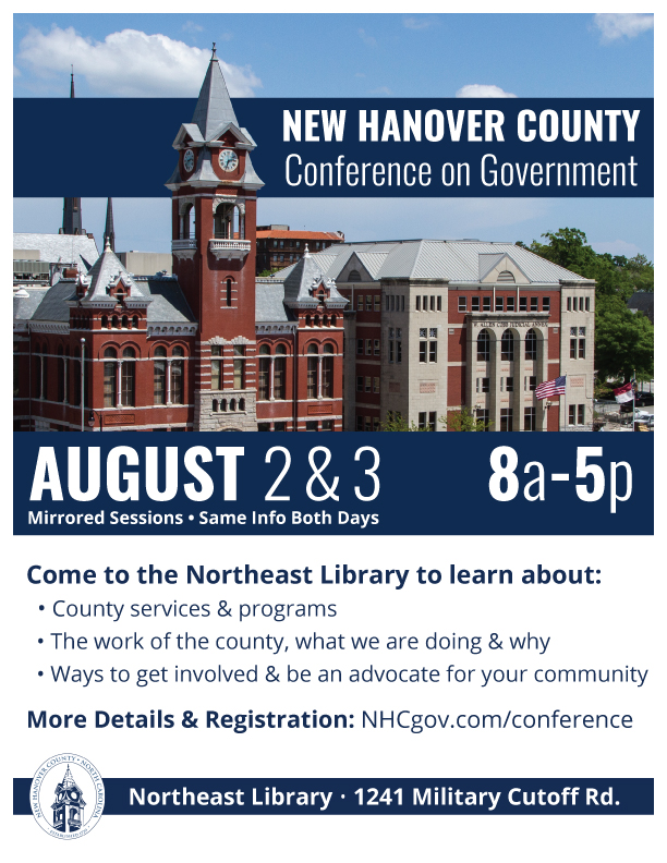 New Hanover County Conference on Government @ Northeast Library